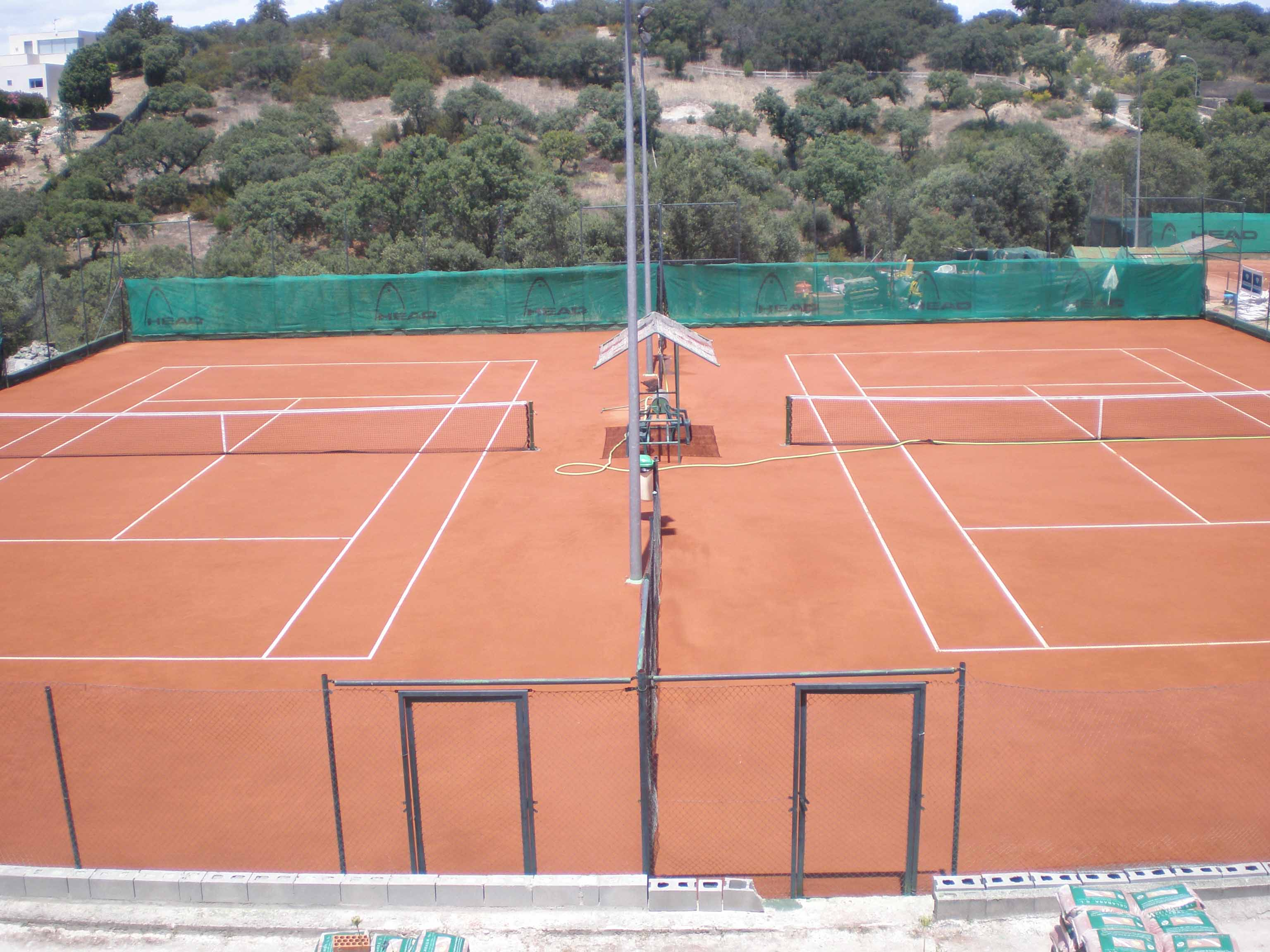 how to build a clay tennis court in your backyard